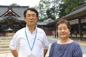 (右から)会長・鴫原壽子さんと事務局長・森博美さん