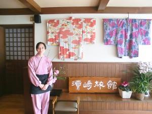 若女将の須﨑真紀子さん