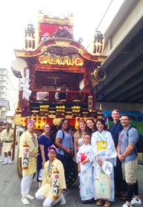 熊谷うちわ祭りでの様子